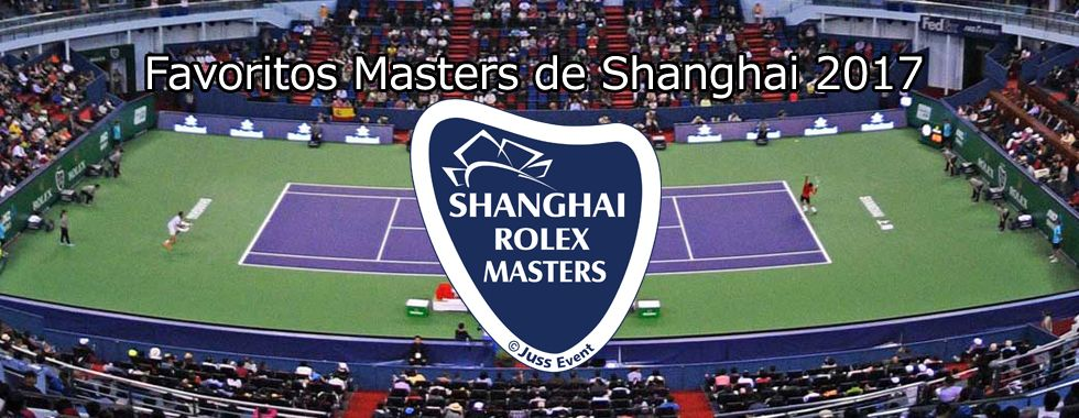 Favoritos Masters de Shanghai 2017