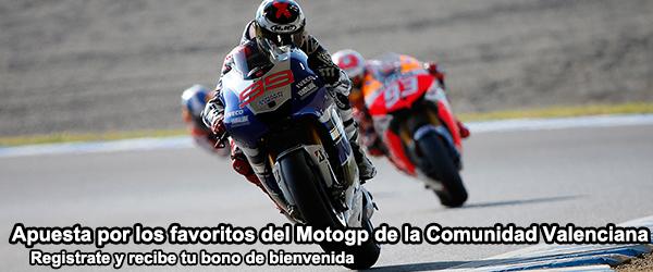 Favoritos del MotoGP de la Comunidad Valenciana