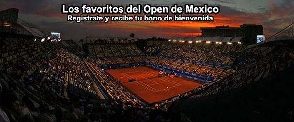 Los favoritos del Open de Mexico