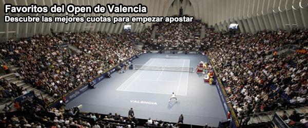 Favoritos del Open de Valencia