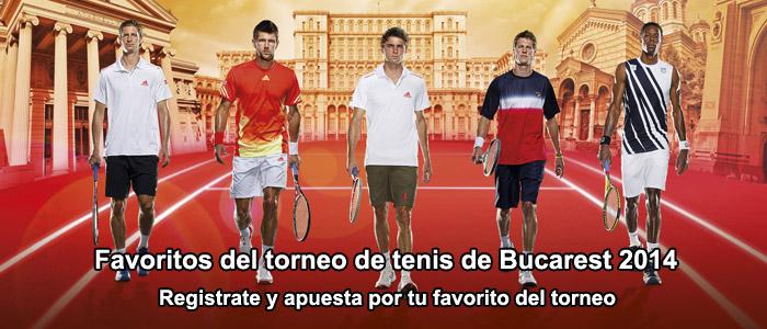 Los favoritos del torneo de tenis de Bucarest 2014