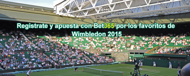 Apuesta por los favoritos de Wimbledon 2015 con Bet365