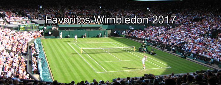 Favoritos Wimbledon 2017
