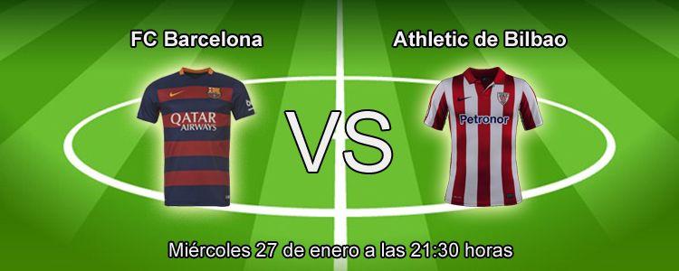 Apuesta con Luckia en el partido FC Barcelona - Athletic Bilbao