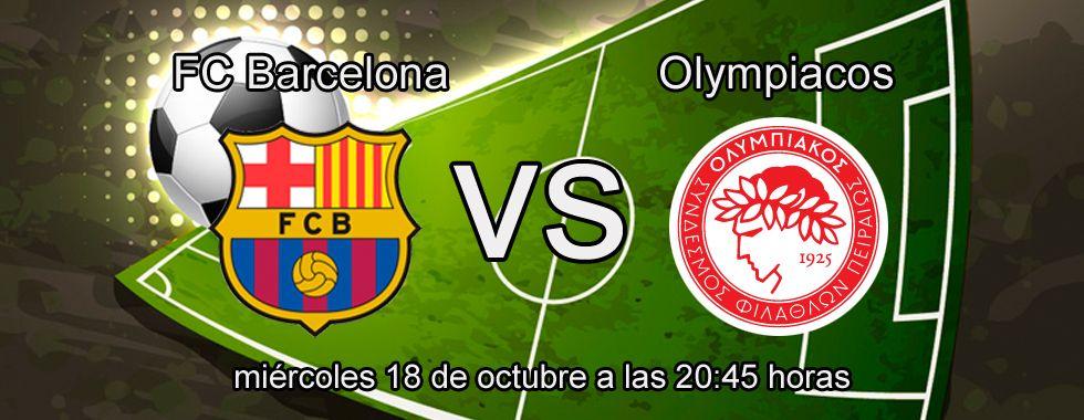 Previa y apuestas Champions: Barcelona - Olympiacos