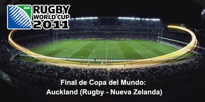 Final de Copa del Mundo: Auckland (Rugby - Nueva Zelanda)