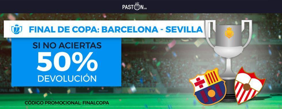 Promoción para la Final de la Copa del Rey: Barcelona - Sevilla