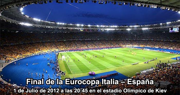 Apuestas Final de la Eurocopa Italia – España