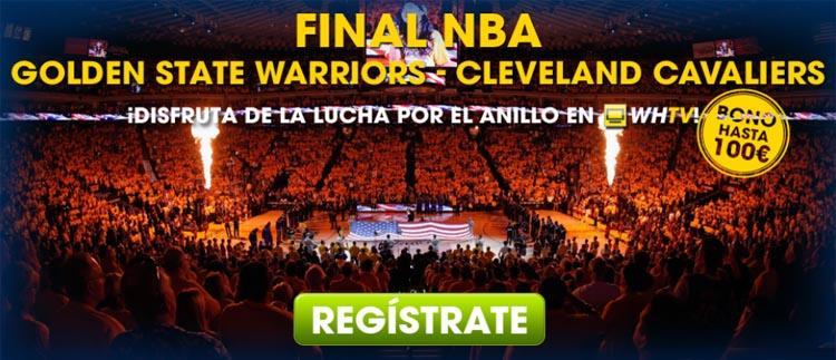 Golden State Warriors vs Cleveland Cavaliers en la final de NBA
