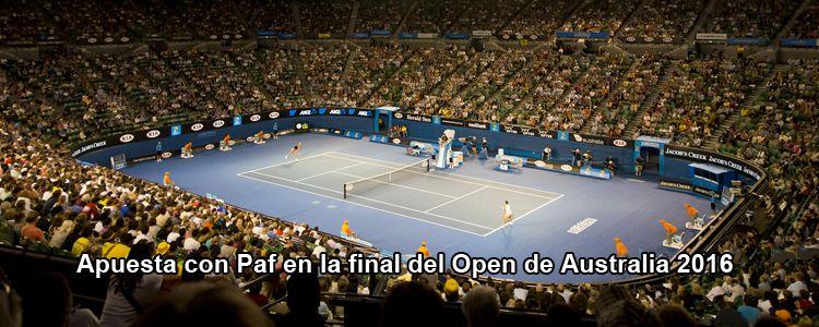 Apuesta con Paf en la final del Open de Australia 2016