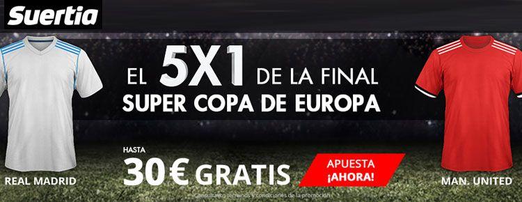 Apuestas Supercopa de Europa 2017
