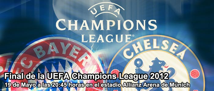 Apuestas en la final de la Champions League 2012