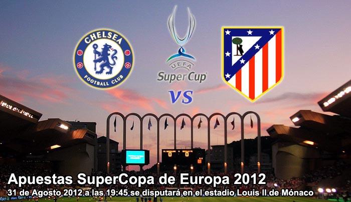 Apuestas SuperCopa de Europa 2012