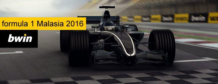 Apuestas formula 1 Malasia 2016