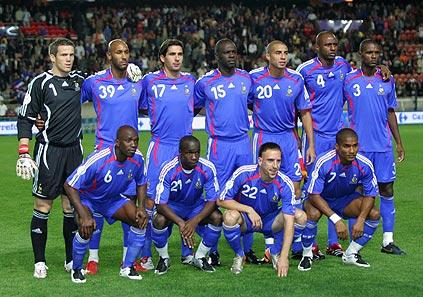 Francia: Los vaivenes más famosos del fútbol