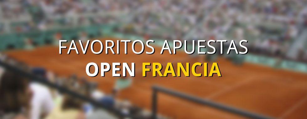 Favoritos Open Francia