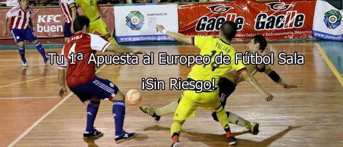 Apuesta con Sportium en el Europeo de Fútbol Sala