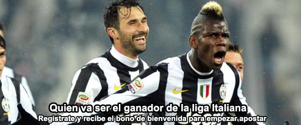 Quien va ser el ganador de la liga Italiana