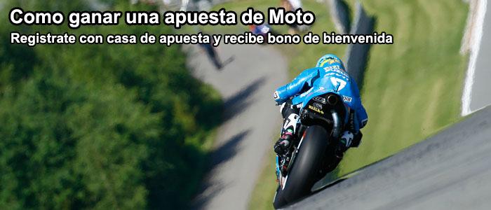 Como ganar una apuesta de Moto