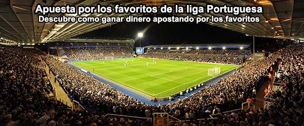 Como ganar dinero apostando por los favoritos de la liga Portuguesa