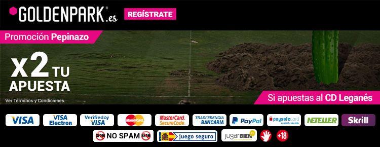 Gana doble de dinero con Goldenpark y CD Leganés