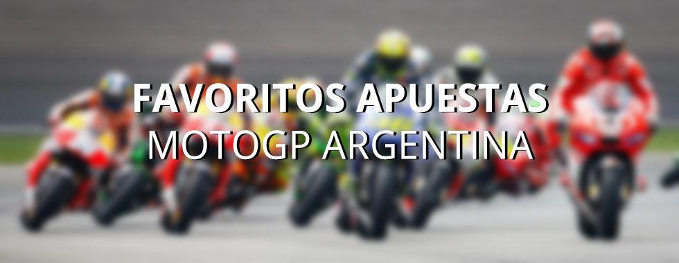 Favoritos apuestas MotoGP Argentina