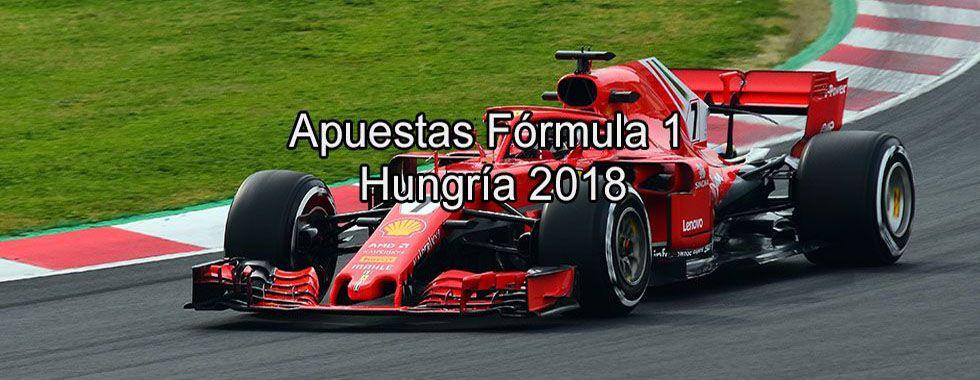 Apuestas Fórmula 1 Hungría 2018