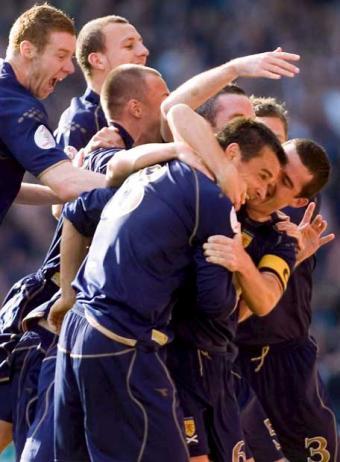 Apuestas Eliminatorias Sudáfrica 2010: Basta de Alcohol para Escocia