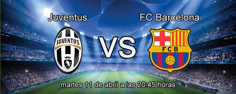 Previa del partido Juventus - Barcelona