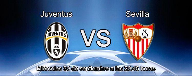 Apuesta con bet365 en el partido Juventus - Sevilla
