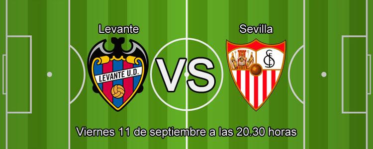 Luckia te presenta las mejores cuotas para el partido Levante - Sevilla