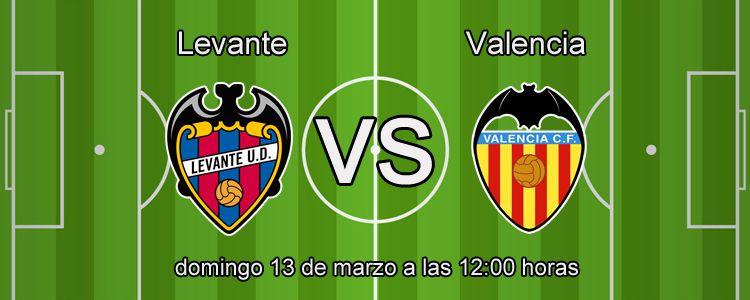 Previa del partido Levante - Valencia
