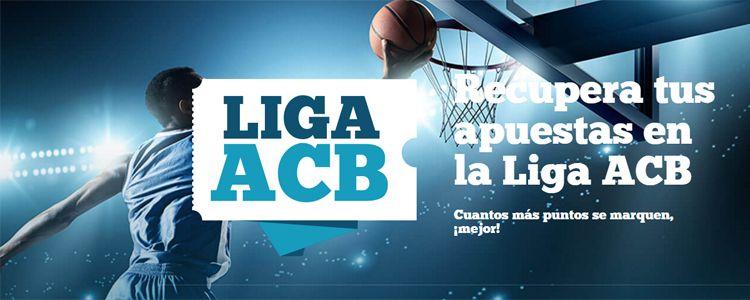 Recupera tus apuestas en la Liga ACB