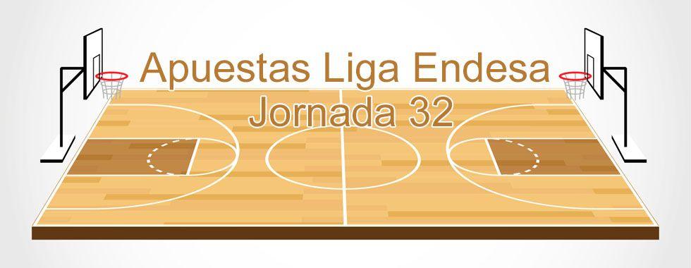 Apuestas Liga Endesa jornada 32