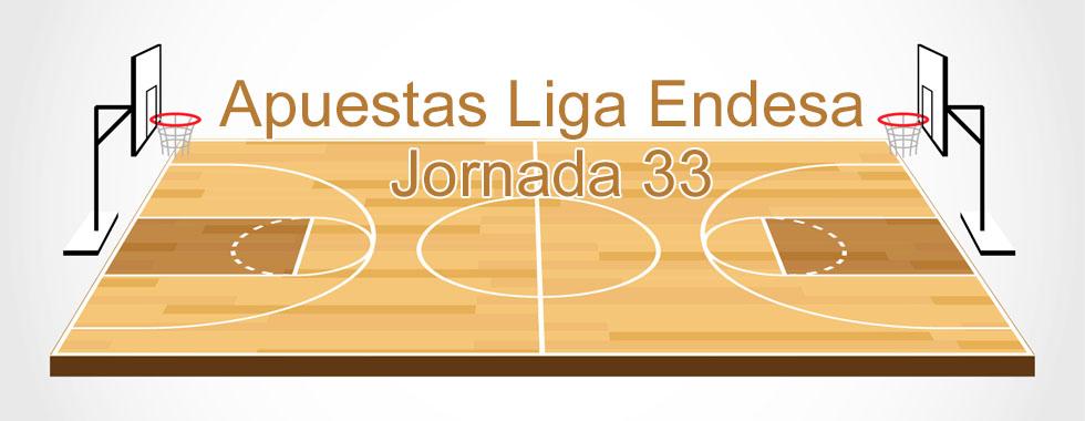 Apuestas Liga Endesa jornada 33