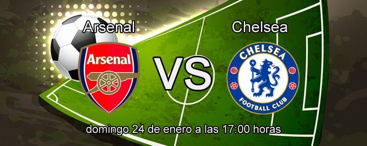 Arsenal se enfrenta ante el Chelsea en la liga Inglesa