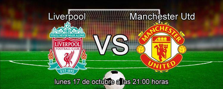 Apuesta en directo en el partido Liverpool - Manchester United