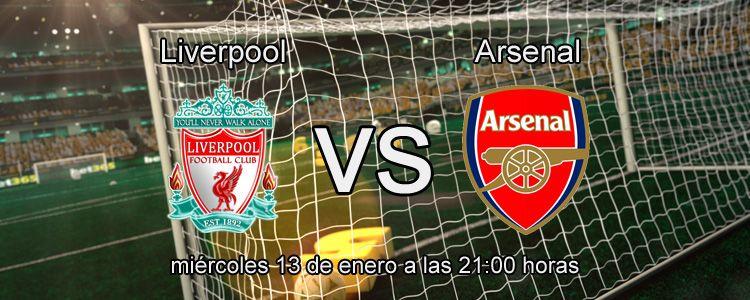 Bet365 presenta la previa del partido Liverpool - Arsenal