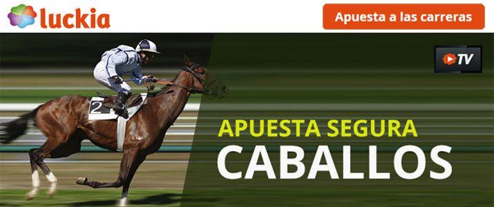Apuestas carreras de caballos online con Luckia