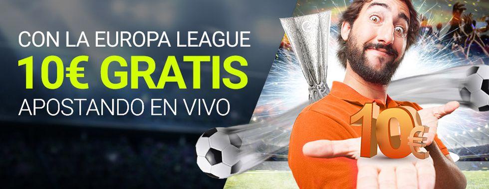 Empieza a apostar con Luckia en los partidos de Europa League