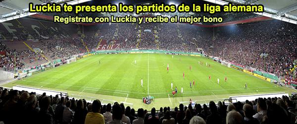 Luckia te presenta los partidos de la liga alemana