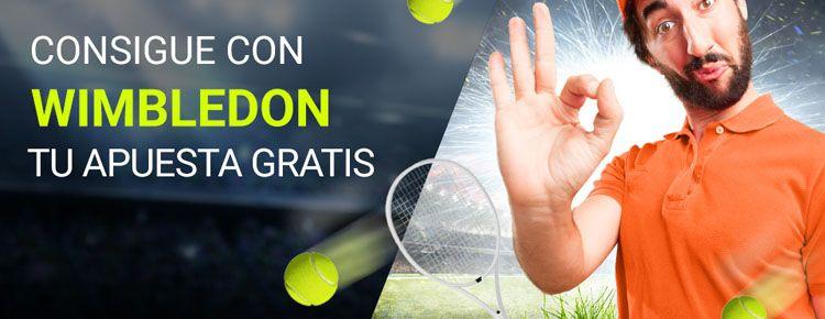 Gana hasta 2 apuestas gratis apostando en Wimbledon