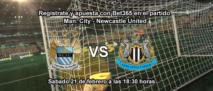 Estrategias para apostar en el partido Man. City - Newcastle United