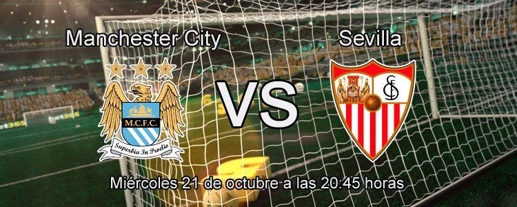 Previa partido Manchester City vs Sevilla
