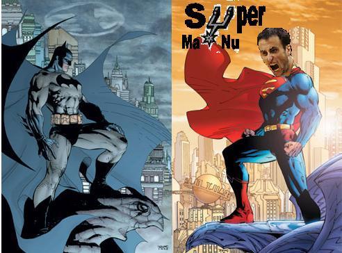 Manu Ginobilli: Cazavampiros hace temblar a Batman en NBA