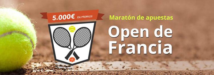 Nueva promoción de apuestas en el Open de Francia 2015
