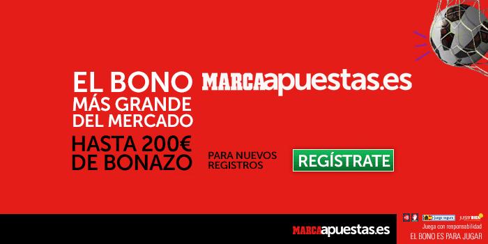 Nuevo bono de bienvenida de hasta 200€ en Marca Apuestas