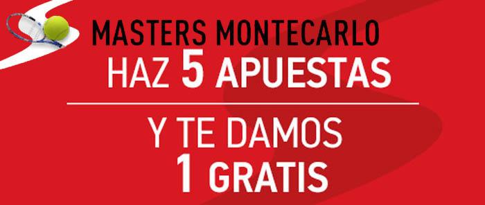 Recibe una apuesta gratis con Sportium en el Masters de Montecarlo