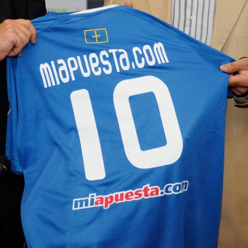 Oviedo: MiApuesta, nuevo sponsor