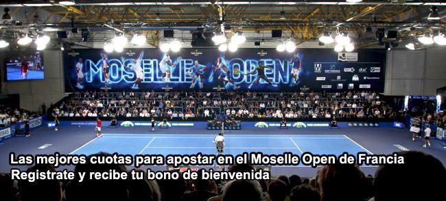 Las mejores cuotas para apostar en el Moselle Open de Francia